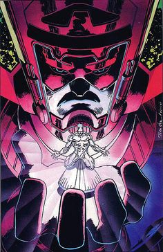 Silver Surfer by Jim Lee .  Cameo by Galactus. ®