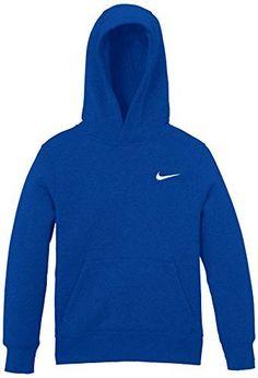 f6837977d1658 Nike Brushed Sweat-shirt à capuche Garçon  Poche kangourou Capuche doublée  à plusieurs empiècements
