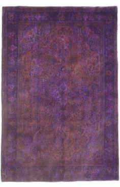 Astara Collection Fenham Purple Rug