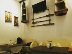 Rustic white beach ideas | brotherhops beer corner, solo city, indonesia | rustic industrial interior design, full recycle materials,warm look, open style, tropical design ideas | design by wawan louis upcycle201 concept kopihitamku201@gmail.com