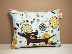 Dachshund Wiener Dog Pillow  Doxie in the by persnicketypelican, $17.00