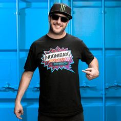 Hoonigan Racing Division Burst Logo Shirt | WRC Clothing