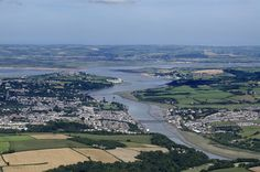 Bideford on the River Torridge - I'm heading north from Bodmin Airfield towards the North Devon coast. Four days prior to this, I'd intended to fly directly from Norfolk to Perranporth in Cornwall but had to divert because of the weather. I started taking aerial images here at Bideford before continuing north, over Barnstaple and on the coastline to the east of Ilfracombe. #devon #aerial #bideford #torridge Devon aerial image | by John D F