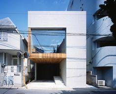 Frame House, Tokyo, Japan by Apollo Architects & Associates.