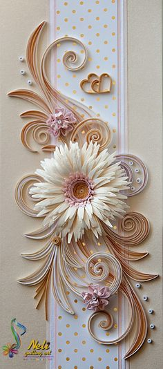 Neli is a talented quilling artist from Bulgaria. Her unique quilling cards bring joy to people around the world. Neli Quilling, Paper Quilling Flowers, Quilling Work, Origami And Quilling, Paper Quilling Designs, Quilling Paper Craft, Quilling Patterns, Paper Crafts, Wallpaper Nature Flowers