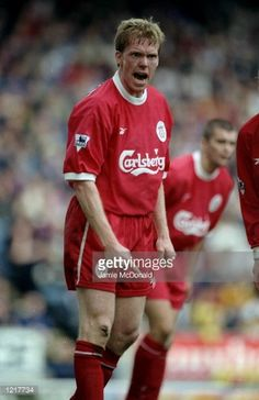 Steve Staunton of Liverpool in action during the FA Carling Premiership match against Blackburn Rovers played at Ewood Park in Blackburn England The match finished in a 13 victory for the visitors...