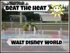 Tips to beat the heat in Walt Disney World. #Disney #Summer #Traveltips