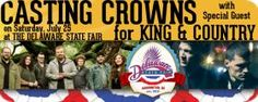 Danny Aguilar called from The Delaware State Fair to speak with The Morning Show's Bill & Denise about the 2015 M&T Grandstand Concert Lineup! And we know you'll be thrilled with the announcment! Casting Crowns and for King & Country are coming to The Delaware State Fair Saturday, July 25, 2015! You can ensure your Church attends - and is seated together. Just complete and return the Church Group Ticket Order Form before Thursday, December 4. Share the form with your Pastor or Church Office…