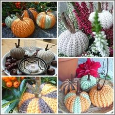 Crochet Fall, Free Crochet, Crochet Decoration, Halloween Decorations, Fall Decor, Free Pattern, Diy And Crafts, Knitting Ideas, Autumn