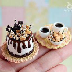 2018.11 Chocolate and coffee set By SweetMiniDollHouse