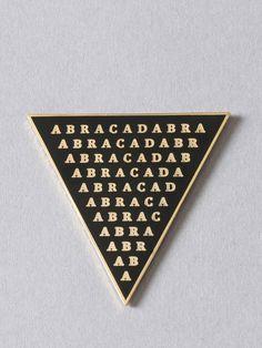 Abracadabra Enamel Pin - Gypsy Warrior