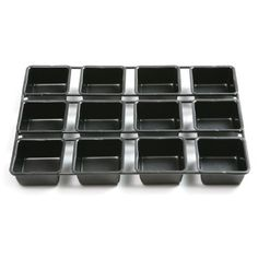 """""""Norpro Nonstick Linking Square Cupcake Pan by Norpro at BakeDeco. Shop for Norpro Nonstick Linking Square Cupcake Pan from Bakeware / Muffin Pans at affordable prices. Square Cupcakes, Cupcake Pans, Muffin Cupcake, Caramel Pears, Ice Cream Cupcakes, Muffin Pans, Make Ice Cream, Salty Cake, Savoury Cake"""