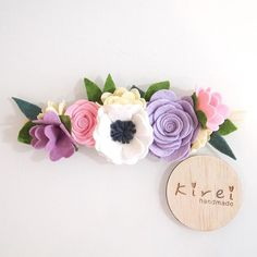 Anemone mini flower crown for 1yo and above, only 1 available in shop, ready to ship. Tomorrow is your last day to place your order to be shipped this week before I leave. All orders placed from Friday 24/6 will be shipped upon my return from holiday on 18/7. Quick get your orders in! Link to shop in profile #kireihandmade
