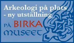Vikingastaden Birka på ön Björkö. Birka en Tidsresa