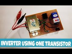 12v to 220v inverter using only one transistors | TTC5200 transistor. - YouTube