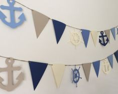 Nautical Banner Sailboat Anchor Life Preserver by HoneygoDesigns Nautical Cake Smash, Nautical Banner, Nautical Party, 1st Birthday Parties, Boy Birthday, Baby Boy Shower, First Birthdays, Balloons, Anchor Background
