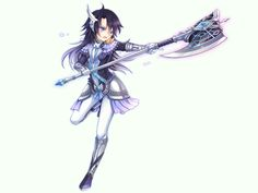 Aura Kingdom Ravager, i tried this calss its cool but i think alot of people d it...
