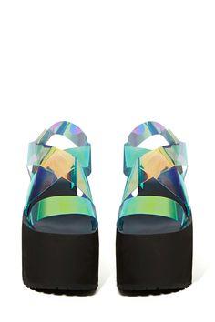 UNIF Vapor Platforms   Shop Shoes at Nasty Gal