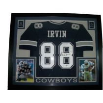 Michael Irvin Framed Autographed Dallas Cowboys Jersey PSA DNA COA Dallas  Cowboys Jersey 86f0c5aa5