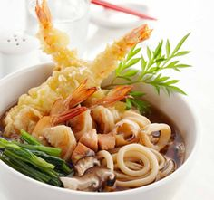 Japanese Udon noodles! Oh my goodness, it looks so good!