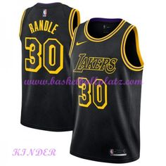 fe49fe4eb Los Angeles Lakers NBA Trikot Kinder 2018-19 Julius Randle 30  City Edition  Basketball