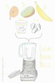 Creamy Banana Breeze Smoothie 4
