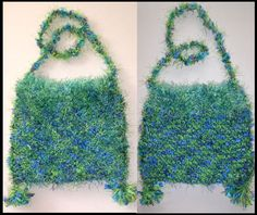 Knit bag by Corinne Stubson