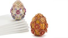 Beaded egg-stravagance - Facet Jewelry Making