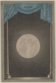 Playing card from the Astronomia card game, published by F.G. Moon, London, 1829.