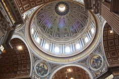 Dome at St. Peter's Basilica, Rome, Italy