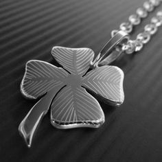 $224.00 St Patrick's Day handmade necklace by LWSilver to bring some luck into your life! #handmade #stpatricksday #silver #necklace