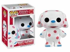 Funko Pop Holidays Rudolph The Red Nosed Reindeer Misfit Elephant Vinyl Figure | eBay