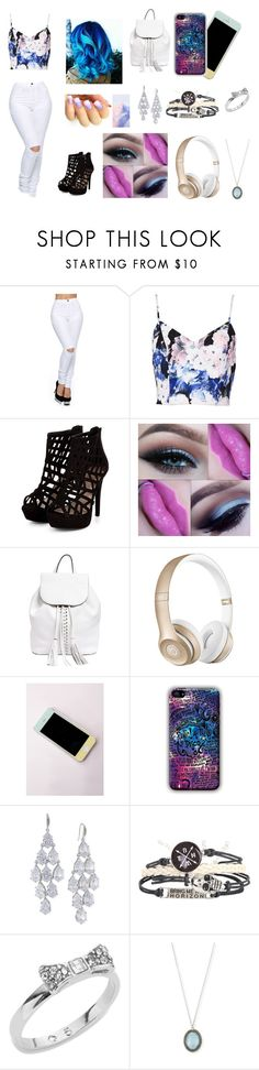 """""""everyday outfit 7 :)"""" by angel-armitage ❤ liked on Polyvore featuring Keepsake the Label, Rebecca Minkoff, Beats by Dr. Dre, Missguided, Carolee, Hot Topic, Kate Spade and Armenta"""