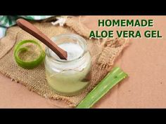 HOMEMADE ALOE VERA GEL RECIPE - YouTube