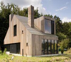 Houten dak constructie (denk een huis in Nederland)
