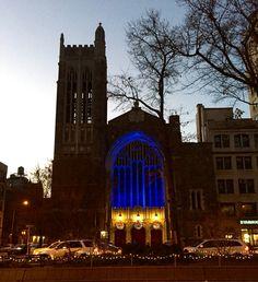Cool looking church.
