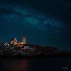 Nubble Light in York, Maine