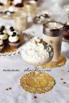 chocolatini cocktails for dessert party