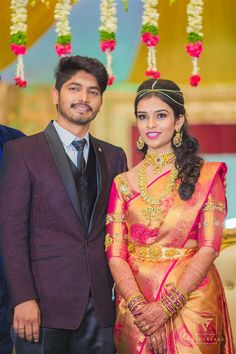 A Perfect Hyderabadi Wedding That Was Planned In 2 Months South Indian Wedding Saree, South Indian Bride, Saree Wedding, Indian Bridal, Kerala Saree Blouse Designs, Reception Sarees, Indian Marriage, Bridal Silk Saree, Saree Dress
