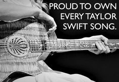 that's definitely one of the requirements of being a true swifty :)