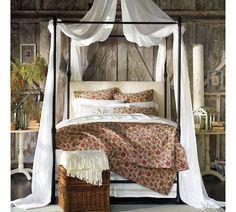 Our Vintage Home Love: Barn Door Master Bedroom Makeover Reveal