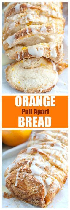 Orange Pull Apart Bread    Posted By: DebbieNet.com