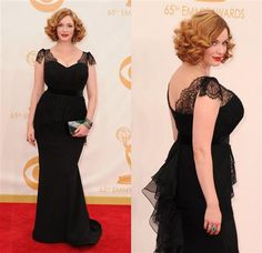 Fashion hits and misses: The 2013 Emmy Awards | Gallery | Wonderwall-Christina Hendricks