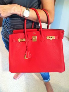She has one too! Can't get enough -- birkin! #shophers #comingsoon #hermes
