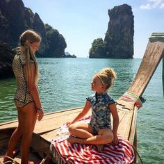 Family travel inspiration Monday...focus on Krabi!  Gorgeous beaches boating elephant trekking snorkelling and more...check out our family-friendly guide to this wonderful Thai destination in our profile link.  Thanks for sharing your photo @getawaywithkids!  #mylittlesteps #krabithailand #amazingthailand #travelwithkids #holidaywithkids #familytrip #beach
