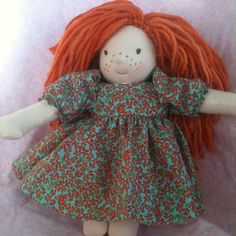 Beautiful hand sewn doll up for auction for our adoption!