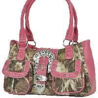 pink camo purses