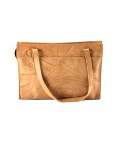 Leaders In Leather East West Tote Natural Lufli 170 Handbags
