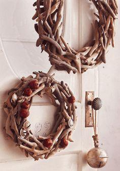 Driftwood wreaths