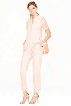 J.Crew Collection Eyelet Jumpsuit, $298, available at J. Crew.